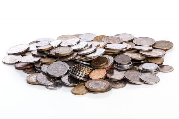 Monete di diversi paesi