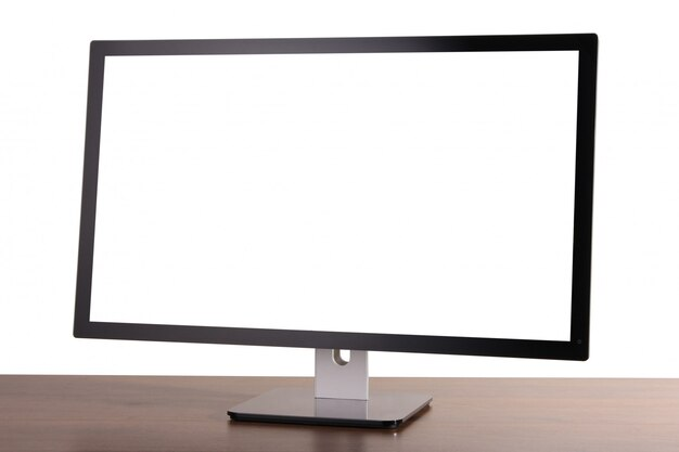 Monitor su bianco