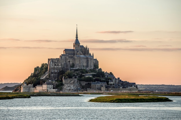 Mont saint michele francia