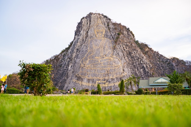 Montagna del buddha a pattaya