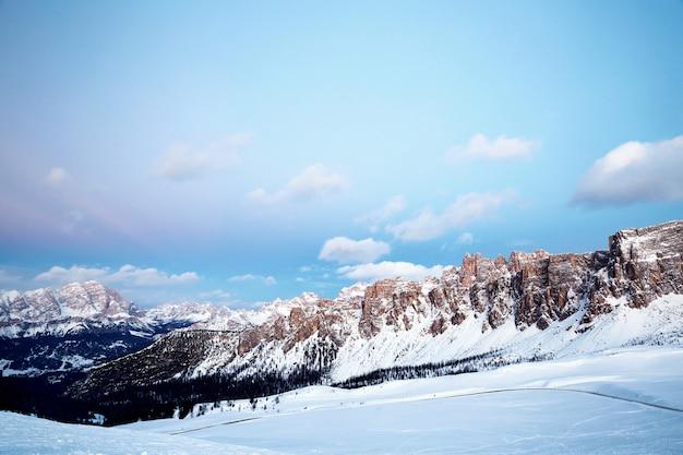 Montagne del passo giau
