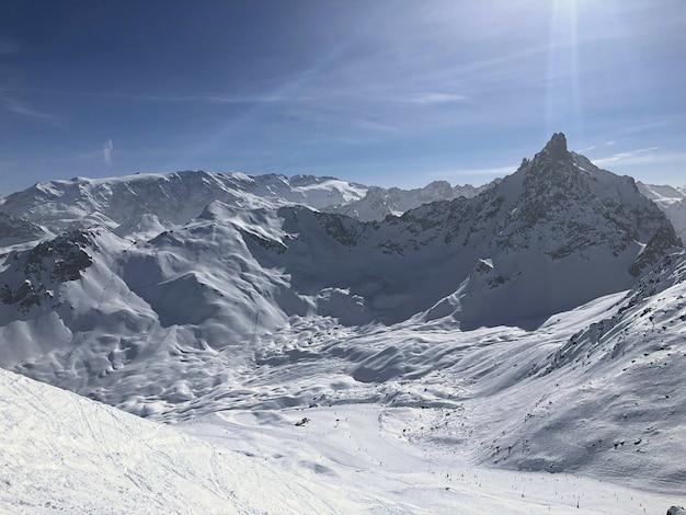 Montagne delle alpi in francia