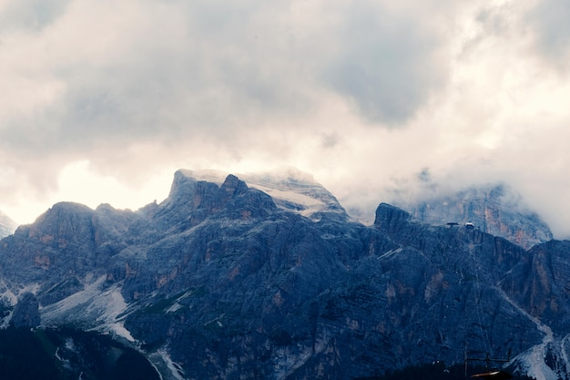 Montagne di cortina d'ampezzo
