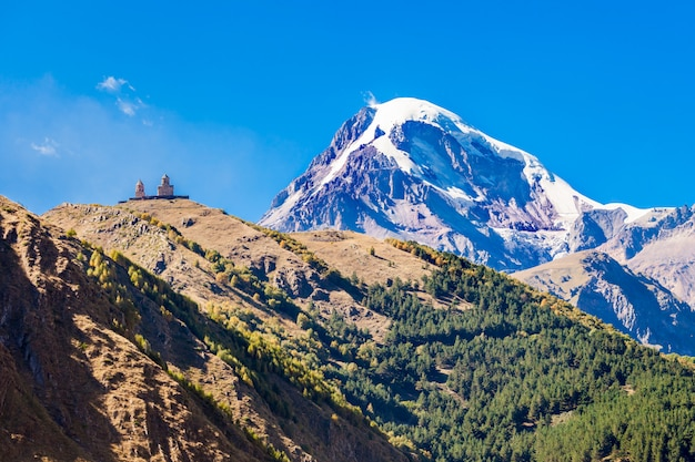 Monte kazbek, georgia
