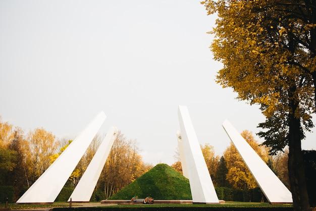 Monumento della grande guerra patriottica in bielorussia