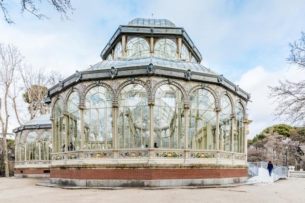 Monumento palacio de cristal, madrid