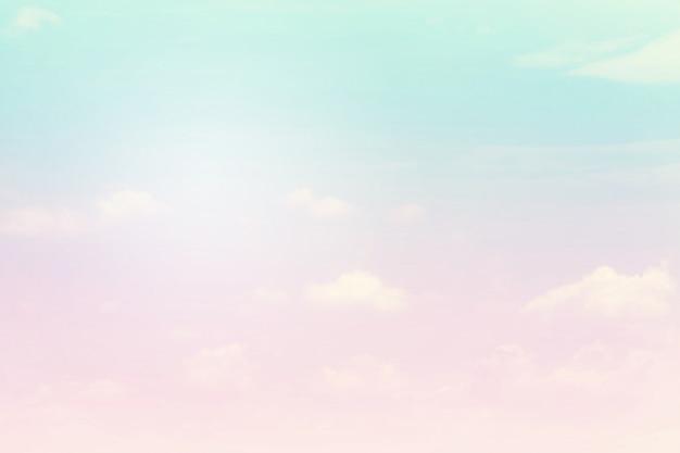 Morbido nuvoloso è gradiente pastello, sfondo astratto