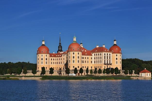 Moritzburg schloss in germania, sassonia