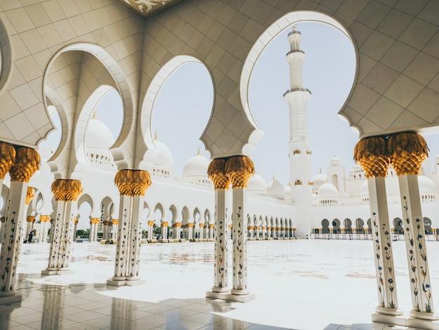 Moschea di sheikh zayed ad abu dhabi