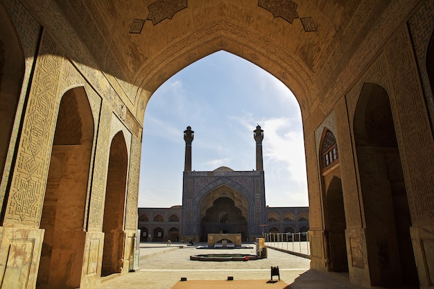 Moschea jameh a isfahan, in iran