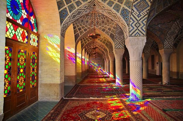 Moschea nasir-ol-molk a shiraz, iran