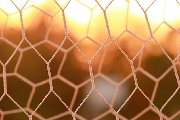 Motivo a rete sportiva geometrica