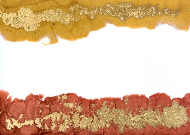 Motivo marmorizzato bronzo e oro. trama liquida marmo dorato.