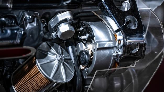 Motore meccanico industriale