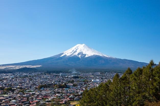 Mountain fuji in giappone