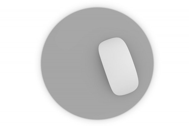 Mousepad isolato