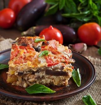Moussaka - un piatto tradizionale greco