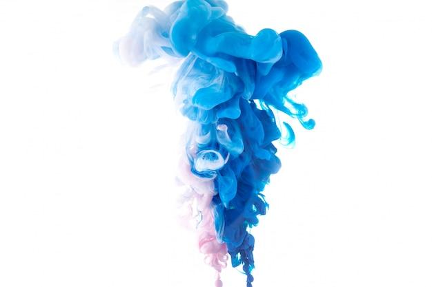 Movimento color drop in water