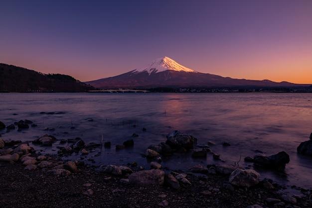 Mt. fuji a kawaguchiko fujiyoshida, giappone.