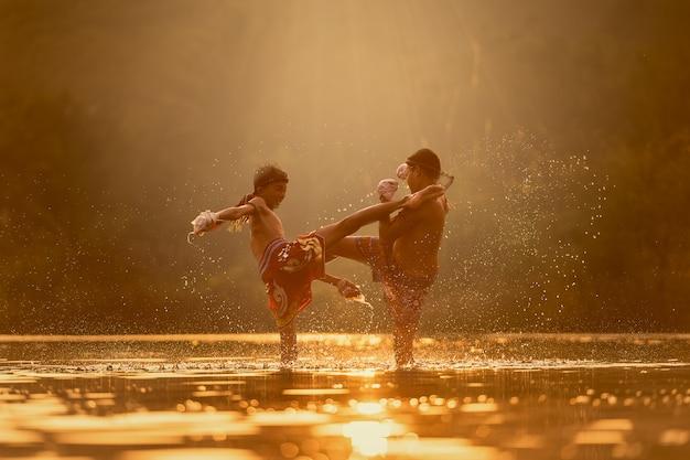 Muay thai, thai boxe, thailandia