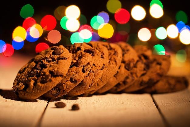 Mucchio di biscotti