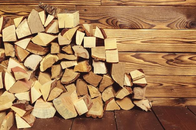 Mucchio di legna da ardere
