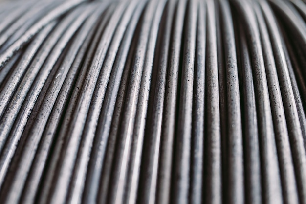 Mucchio di vergella o bobina per uso industriale