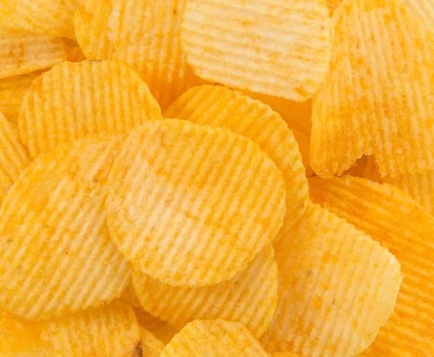 Mucchio dieta ondulazione bianco giallo