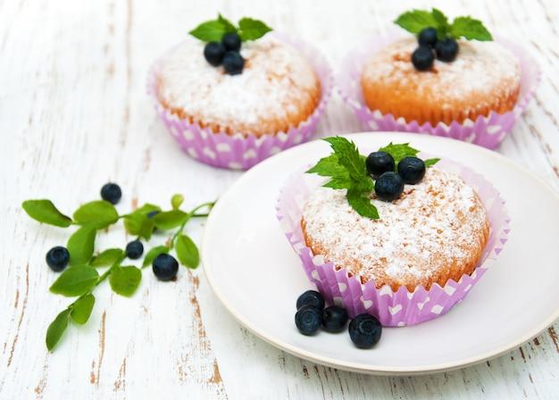 Muffin al mirtillo