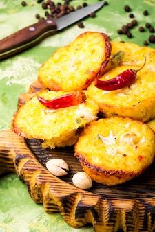Muffin autunnali di zucchine