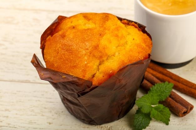 Muffin con caffè