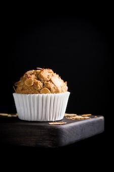 Muffin fatti in casa alla cannella al cocco