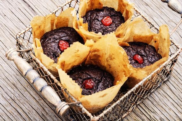 Muffin vegani da fagioli borlotti