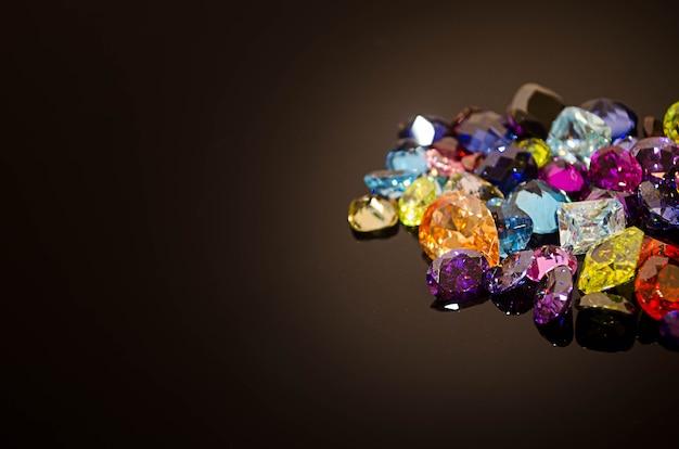Multi colore di gemma o gioiello