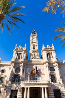 Municipio della città di valencia ayuntamiento che costruisce la spagna