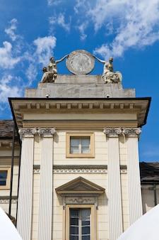 Municipio di aosta in italia.