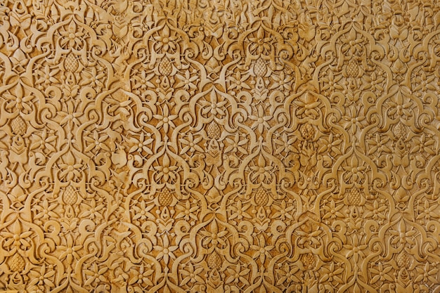 Muro arabo dorato