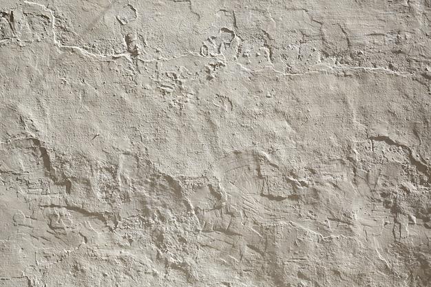 Muro bianco imbiancato a calce
