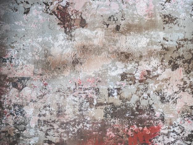 Muro di cemento colorato