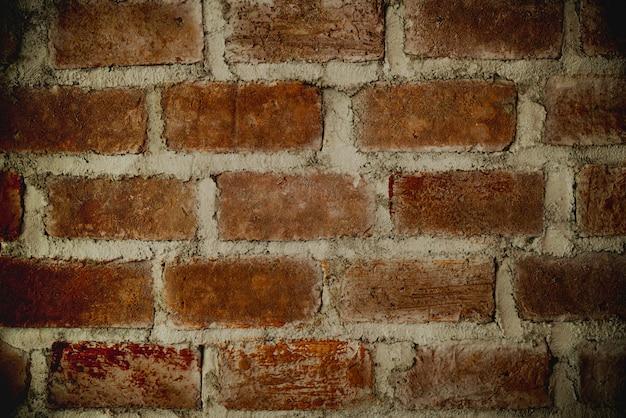 Muro di cemento stucco in cemento. muro di mattoni