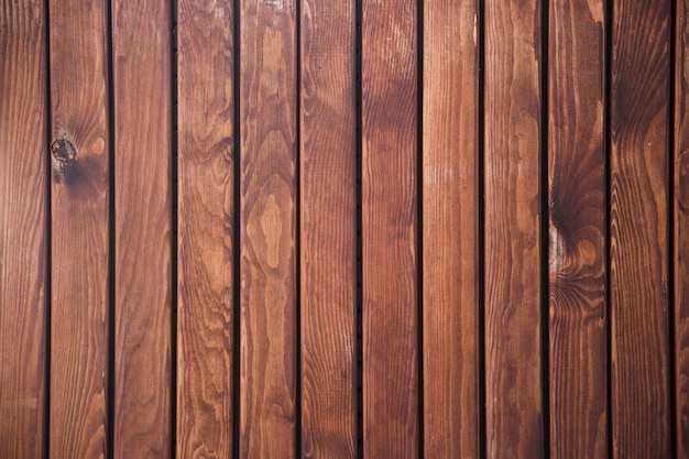 Muro di cinta in legno