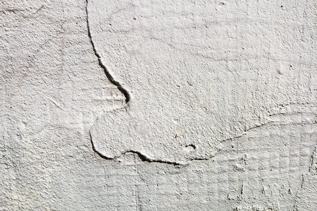 Muro di intonaco di pietra e stile di trama. macchie su un muro di cemento