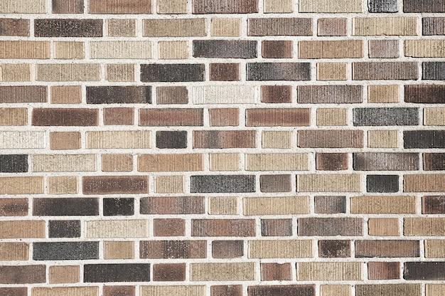 Muro di mattoni a mosaico