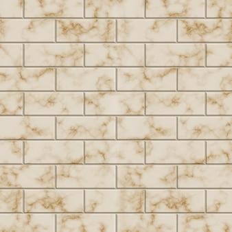 Muro di mattoni beige