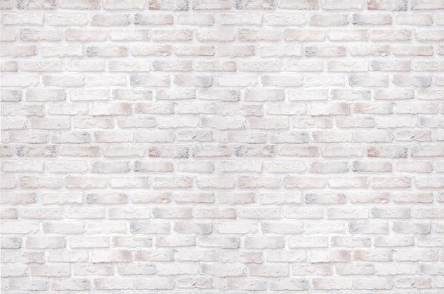 Muro di mattoni bianchi per sfondo e texture.