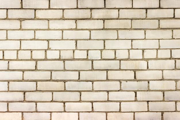 Muro di mattoni bianchi, perfetto come una fotografia quadrata