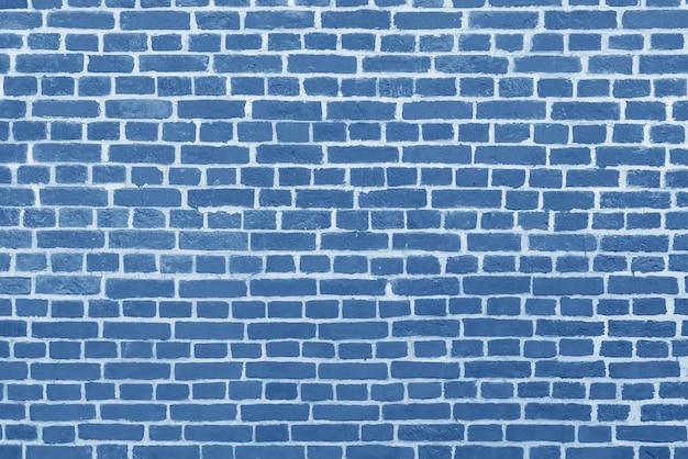 Muro di mattoni blu. interno di un moderno loft. sfondo per la progettazione e la registrazione dell'intervista.
