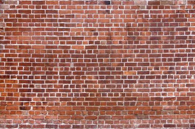 Muro di mattoni con mattoni nuovi