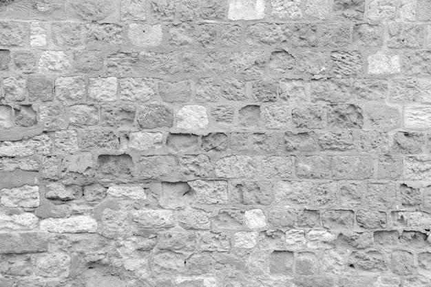 Muro di mattoni decaduto