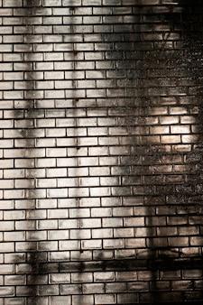 Muro di mattoni della fontana della corona di chicago
